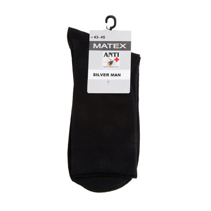 Men´s Matex socks with anti-bacterial protection. matex, black , 919-6313 - 13