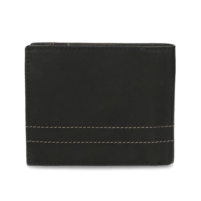 Men's leather wallet bata, brown , 944-6147 - 16