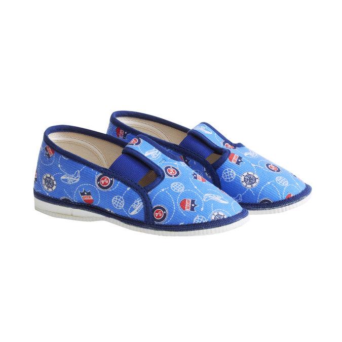 Children's slippers bata, multicolor, 179-0105 - 26