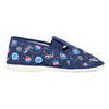 Children's slippers bata, blue , 379-9012 - 19