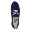Blue textile sneakers tomy-takkies, blue , 519-9691 - 19