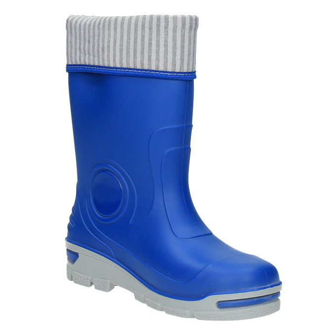 Children´s blue Wellingtons mini-b, blue , 292-9200 - 13