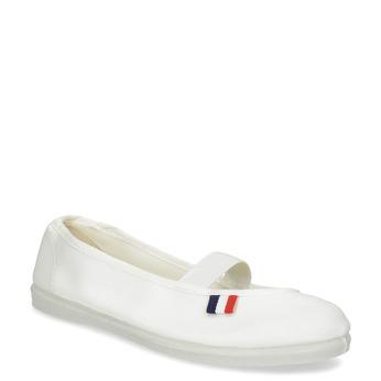 Kids' gym shoes bata, white , 379-1001 - 13