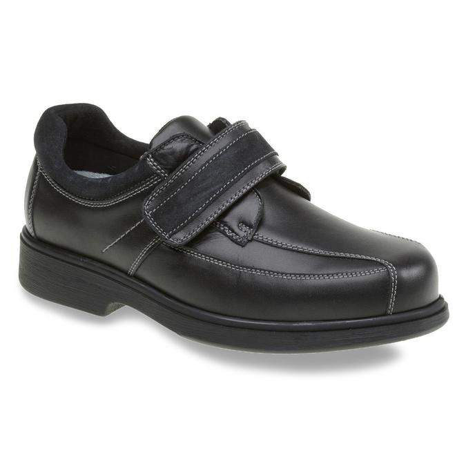 Leather Sneakers bata, black , 834-6001 - 13