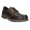 Casual Leather Lace-Ups bata, brown , 826-4640 - 13