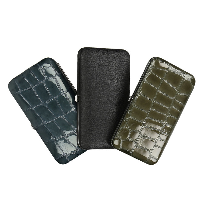 Manicure in a leather case bata, multicolor, 944-0319 - 13