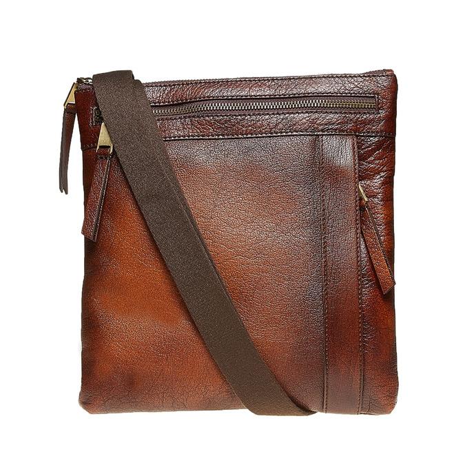 Men´s leather Crossbody bag bata, brown , 964-4138 - 26