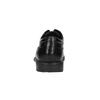 Black leather shoes rockport, black , 824-6106 - 17