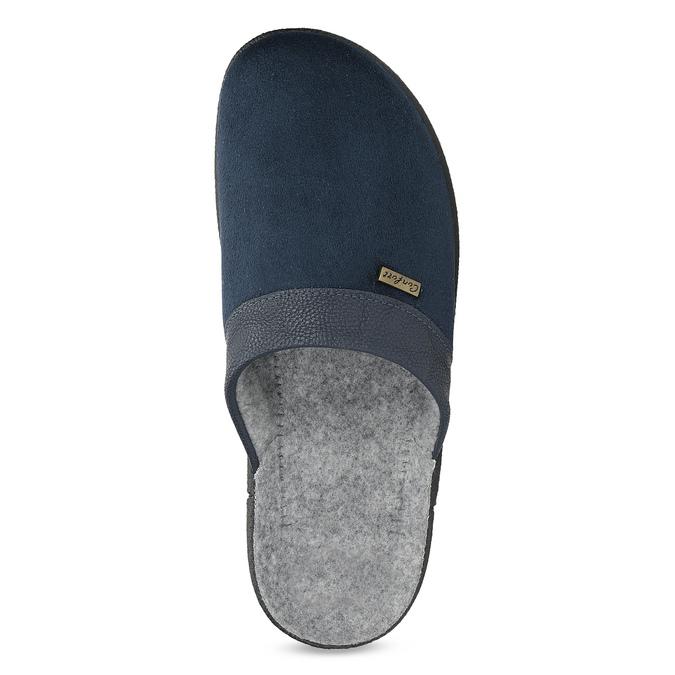 Men's slippers bata, blue , 879-9600 - 17