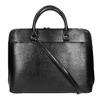 Elegant handbag for carrying in the hand bata, black , 961-6882 - 19