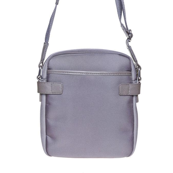 Long strap bag bata, gray , 969-2366 - 17