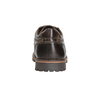 Casual Leather Lace-Ups bata, brown , 826-4640 - 16