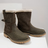 Ladies' winter boots with fur weinbrenner, khaki, 594-2455 - 14