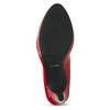 Red patent leather pumps insolia, red , 728-5104 - 18