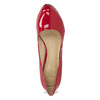 Red patent leather pumps insolia, red , 728-5104 - 17