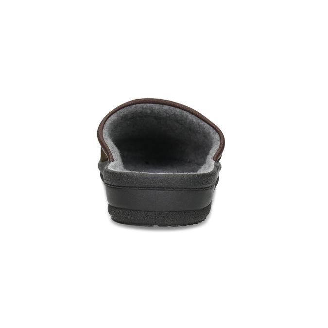 Men's slippers bata, brown , 879-4600 - 15