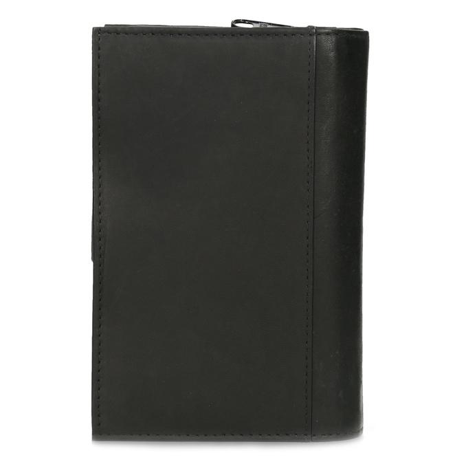 Ladies' leather purse bata, black , 944-6155 - 16